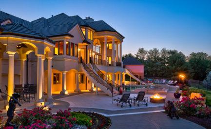 Luxury Homes, Newport Landing, Road to Omaha Nebraska