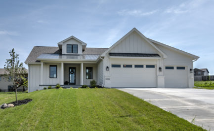 Timeless Custom Homes, New Construction Homes, Papillion, Nebraska, Modern Farmhouse Home