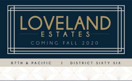 Omaha Nebraska, short drive to College World Series, Loveland Estates Development, Luxury Development