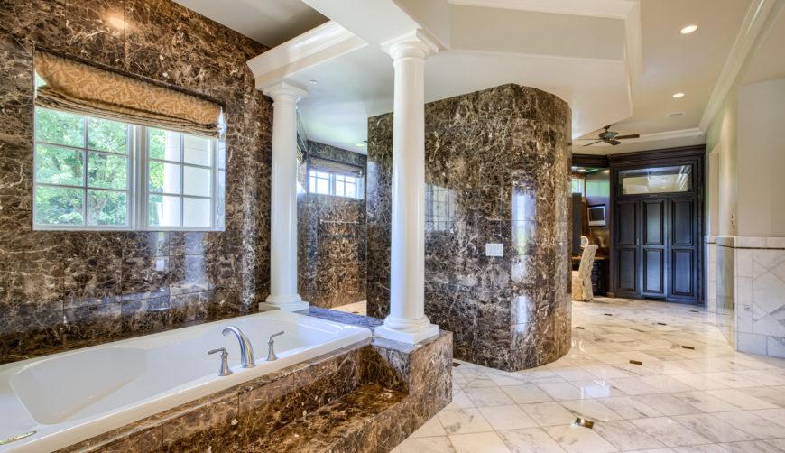 Luxury bathroom, luxury living