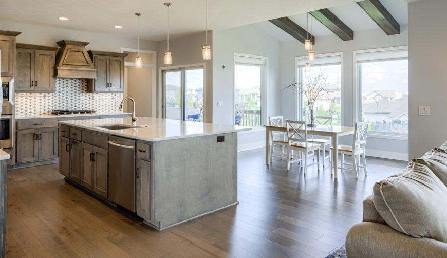 modern kitchen, kitchen for entertaining