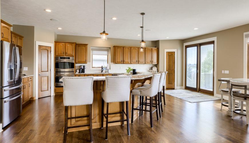 modern light fixtures, modern kitchen